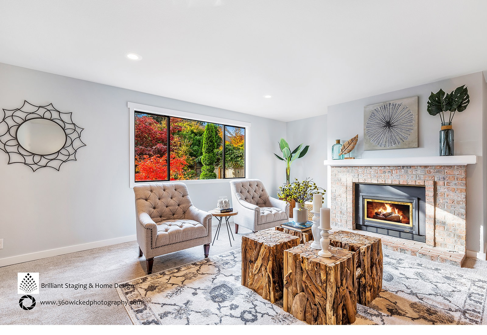 Home staging by brilliant staging $ design