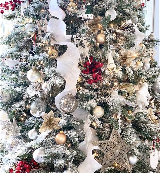 Christmas tree ornaments Christmas tree Christmas decorations
